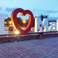 Photo taken at Bay Walk, Mati City by Cjane d. on 5/16/2014