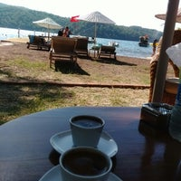 Photo taken at ONEIRO BEACH RESORT by Engin E. on 8/24/2014