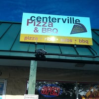 Photo taken at Centerville Pizza And BBQ by Angela on 8/8/2014