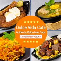 Photo taken at Dulce Vida Cafe & Resturant by Dulce Vida Cafe & Resturant on 4/7/2015