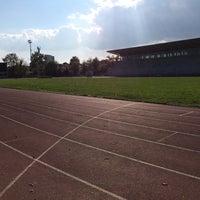 "Photo taken at Stadionul Național de Rugby ""Arcul de Triumf"" by Oana S. on 10/24/2015"