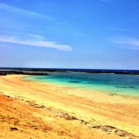 Photo taken at Yonama Beach by nabechan O. on 5/12/2013