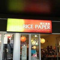 Photo taken at Rice Paper by Glenn S. on 11/4/2012