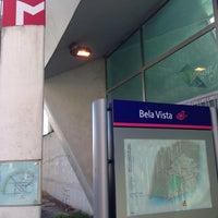 Photo taken at Metro Bela Vista [VM] by Marco N. on 3/7/2015