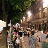 Photo taken at Piazza Garibaldi by Stefano V. on 8/10/2014