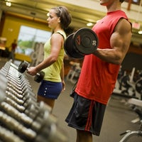 Photo taken at Gold's Gym by Gold's Gym on 7/24/2014