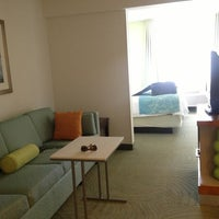 Photo taken at SpringHill Suites Pittsburgh Washington by Tracy S. on 4/22/2013