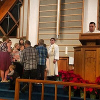 Photo taken at St Stephen's Evangelical Lutheran Church by Amanda S. on 12/25/2016