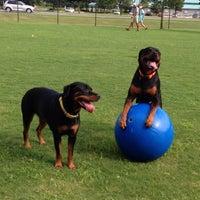 Photo taken at Destin Dog Park by Ellie on 7/8/2013