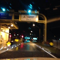 Photo taken at Moss Park Toll Plaza by Jeannie T. on 11/21/2013