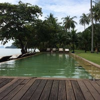 Photo taken at Koh Yao Island Resort by Antoine P. on 10/19/2014