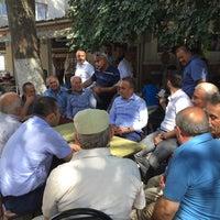 Photo taken at Çınaraltı Lapseki by Yunus Ö. on 8/27/2016
