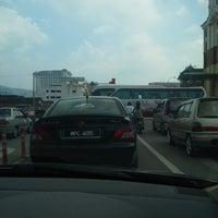 Photo taken at Traffic Light, Bakau Condong by Nurul Q. on 3/11/2013