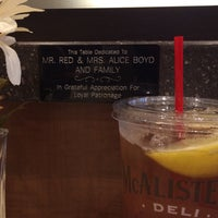 Photo taken at McAlister's Deli by Tamela on 1/1/2016