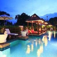 Photo taken at Dhevan Dara Resort & Spa by NUGAMKA on 6/24/2013