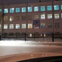 Photo taken at Школа №9 им. А. С. Пушкина by Andrey B. on 1/17/2018