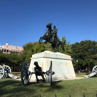 Photo taken at Andrew Jackson Statue by Vladimir M. on 10/1/2017