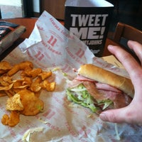 Photo taken at Jimmy John's by Willie W. on 4/6/2013