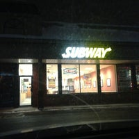 Photo taken at Subway by Pierre-Olivier P. on 12/21/2012