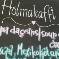 Photo taken at Hólmakaffi by Skuli A. on 9/26/2015