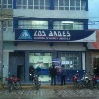 Photo taken at Caja Los Andes Ayaviri by Gustavo J. on 3/13/2013
