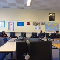 """Photo taken at Salle 401 """"English class"""" by Joupi M. on 11/5/2013"""