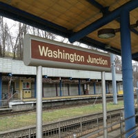 Photo taken at Washington Junction by Antonio F. on 1/17/2013