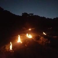 Photo taken at çıralı yanartaş mağarası by Ender A. on 7/3/2018