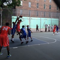 Photo taken at West 4th Street Courts (The Cage) by Jeff W. on 5/29/2014