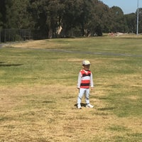 Photo taken at Meadowbank Park by Pavel 🏇🏇🏇 K. on 9/11/2017