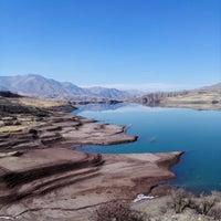 Photo taken at Taleghan Dam | سد طالقان by Shaghayegh E. on 11/30/2016
