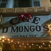 Photo taken at Cafe d'Mongo's by Just C. on 12/15/2012