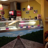 Photo taken at The Whistle Stop Ice Cream & More by Sue N. on 10/22/2013