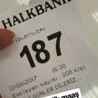 Photo taken at Halkbank by Ayşegül💕 D. on 9/12/2017