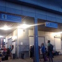 Photo taken at Автовокзал «Кирилівка» by Наталья Д. on 7/28/2014