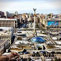 Снимок сделан в Гостиница «Украина» пользователем Alex T. 3/8/2013