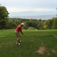 Photo taken at Alpine Golf Course by Cory O. on 9/24/2015