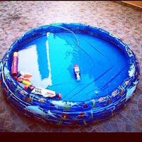 Photo taken at Debonou Suites Pool by Maria D. on 8/10/2014