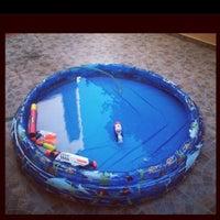 Photo taken at Debonou Suites Pool by Maria D. on 8/10/2013