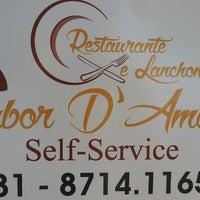 Photo taken at Restaurante e Lanchonete Sabor D' Amélia by Magno A. on 8/19/2014