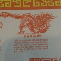 Photo taken at Szechwan Chinese Restaurant by Alex G. on 4/30/2014