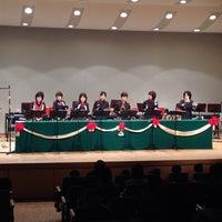 Photo taken at 南コミュニティセンター せせらぎ by kenichi h. on 12/13/2014