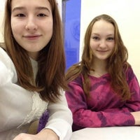 Photo taken at Школа 55 by Ксения K. on 2/2/2015