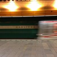 Photo taken at Metro =B= Radlická by Janek R. on 4/3/2013