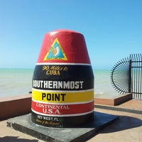 Photo taken at Southernmost Point Buoy by Raul M. on 4/19/2013