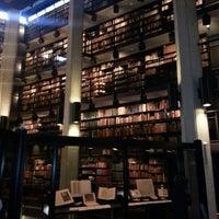 Photo taken at Robarts Library by Basak N. on 2/22/2013