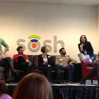 Photo taken at @getsosh by Alison S. on 4/17/2013