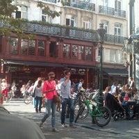 9/16/2012 tarihinde Ruth C.ziyaretçi tarafından Place Saint-Géry / Sint-Goriksplein'de çekilen fotoğraf