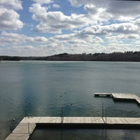 Photo taken at Camp Wilderness Waterfront by Nic J. on 5/11/2013
