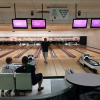 Photo taken at Mt. Airy Duckpin Bowling Lanes by Sean M. on 5/22/2014